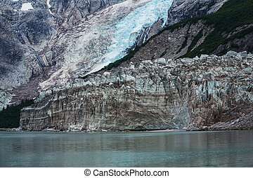 Glacier on Alaska - Glaciers in Alaska