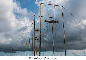 trapecio, Aire libre