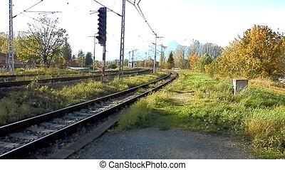 Trainset of the High Tatras. - Trainset passenger transport...