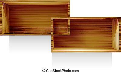 shelf - Regiment abstract vector illustration eps 10