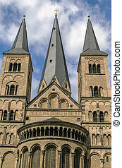 Bonn Minster, Germany - The Bonn Minster is a Roman Catholic...