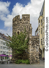 Sterntor tower, Bonn, Germany - Sterntor tower is...