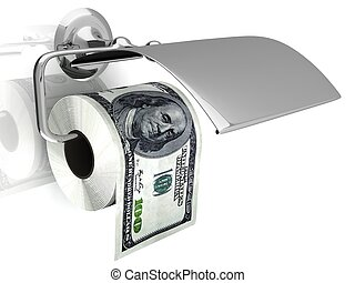 Expensive toilet paper