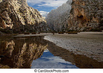Torrent de Pareis Majorca - The Torrent de Pareis near Sa...