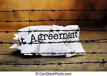 Agreement against barbwire