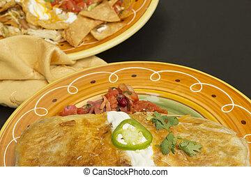 Authentic Mexican Burrito