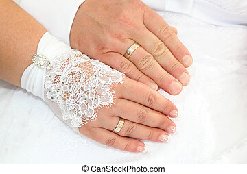 rings - arms and rings Newlyweds