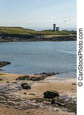 Elie Lighthouse - Shot of Elie Lighthouse in Fife Scotland