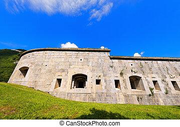 Fortaleza, Larino, -, primero, mundo, guerra,
