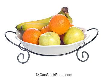 fruta, tazón