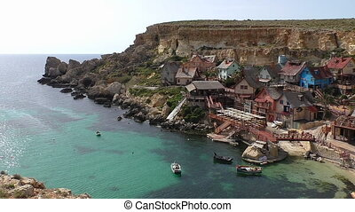 Malta island,colourful village
