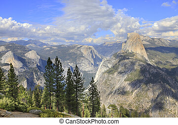 Yosemite National Park in California. United States of...