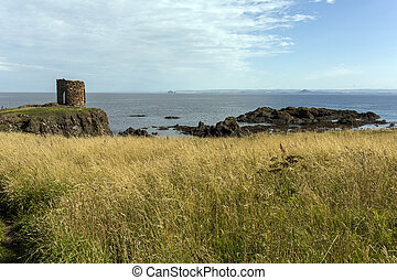 Ruin in Elie Scotland