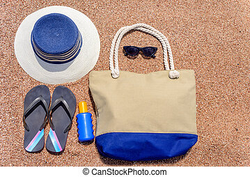 All you need for a summer vacation at the beach