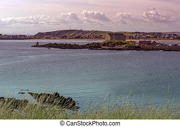 Stunning coastline in Fife Scotland - Stunning coastline in...