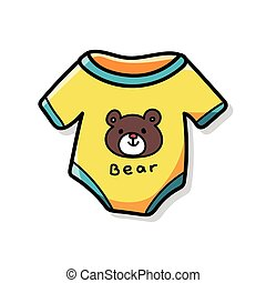 baby clothes doodle