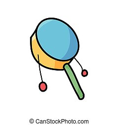 toy rattle doodle