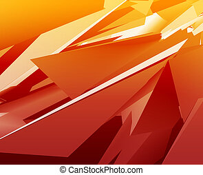 Geometric abstract - Abstract illustration background of...