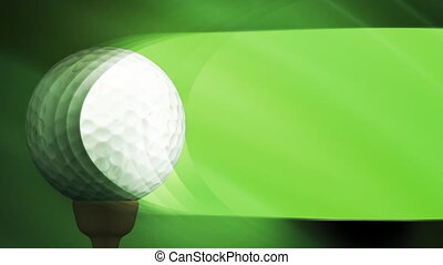 Golf Loop - Looping Sports Animated Background