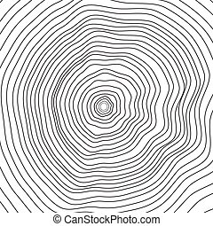 Conceptual background with tree-rings.