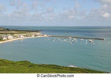 Omonville la Rogue - France, Normandy, Cotentin, landscape,...