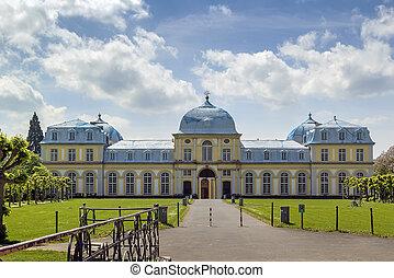 Poppelsdorf Palace, Bonn, Germany - Poppelsdorf Palace is a...