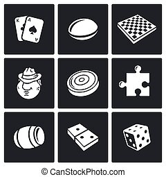 Board games icon. Vector Illustration. - Vector Isolated...