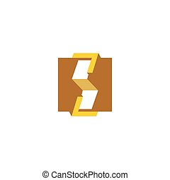 Woodworking abstract sign. Vector Illustration - Branding...