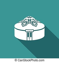 Yurt icon. Vector Illustration. - Vector Isolated Flat Icon...