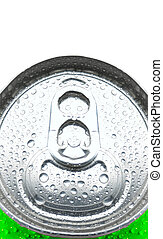 Close up of Soda Can - Soda Can with Pull Tab and...