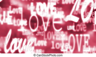 Love Loop Animated Background