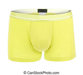 underwear isolated on the white background