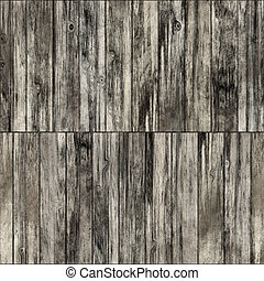 Wooden planks - Abstract generated obsolete wooden planks...