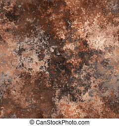 Rust metal - Textured corroded rusty rough metal surface...