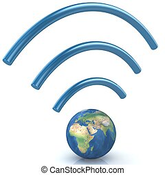 Wifi concept.