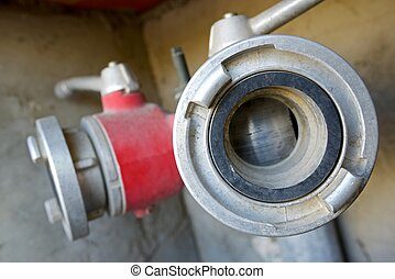 Hydrant - Close-up of a fire hydrant