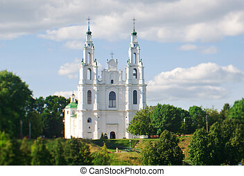 Saint Sophia Cathedral church .Polotsk city, Belorussia
