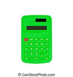 計算, 白色, 綠色, 被隔离