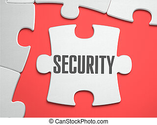 Security - Puzzle on the Place of Missing Pieces - Security...