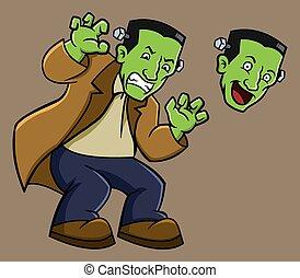 Frankenstein - Big green Frankenstein ready for Halloween...