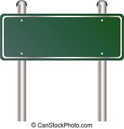 Road sign vector eps 10