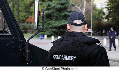 Images photos de gendarmery 12 photos et images libres de - Grille indiciaire officier gendarmerie ...