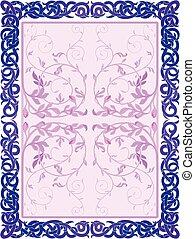 floral frames deco