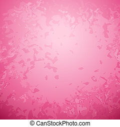 Abstract pink paper background with bright center spotlight