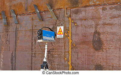 x-rays weld inspection weld inspection - The radiographic...