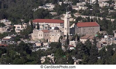 Ein Karem Jerusalem Israel - Ein Karem Village in Jerusalem...