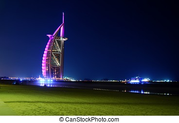 Burj Al Arab (Tower of Arabs) in Dubai is known to be the...