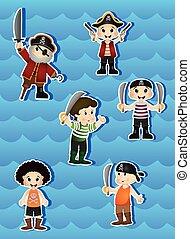 Pirates Cartoon for your design