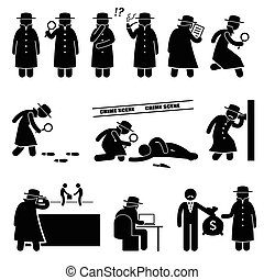 Detective Spy Private Investigator - A detective is...