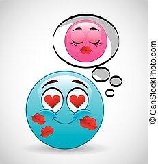 emoticon concept